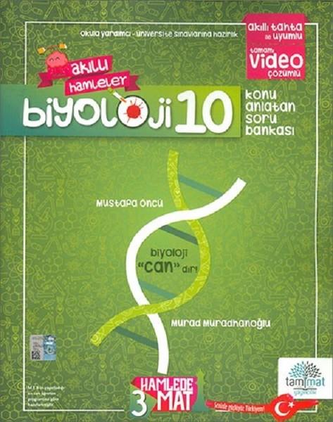 10. Sınıf Biyoloji Akıllı Hamleler Konu Anlatımlı Soru Bankası kitabı