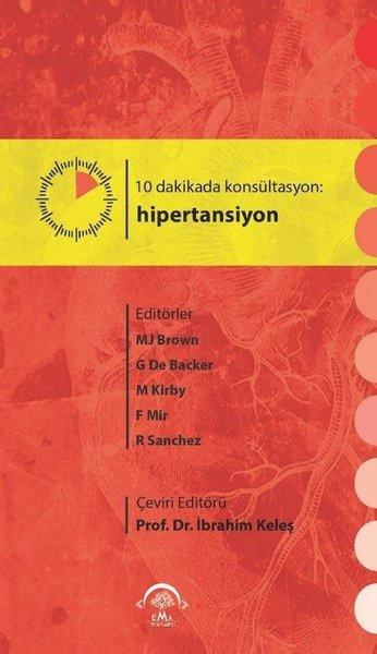 10 Dakikada Konsültasyon Hipertansiyon kitabı