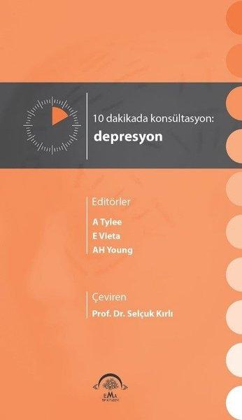 10 Dakikada Konsültasyon Depresyon kitabı