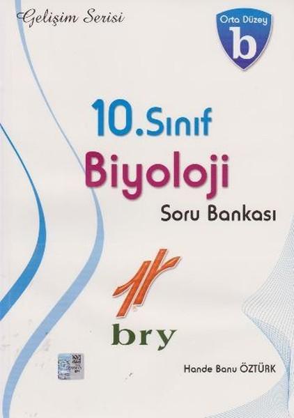 10. Sınıf Biyoloji Soru Bankası Orta Düzey B kitabı