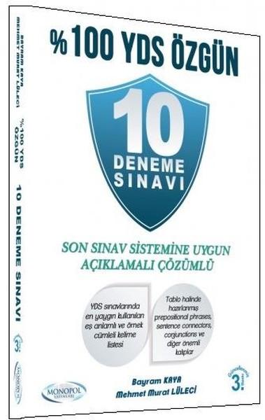 10 Deneme Sınavı-%100 Yds Özgün kitabı