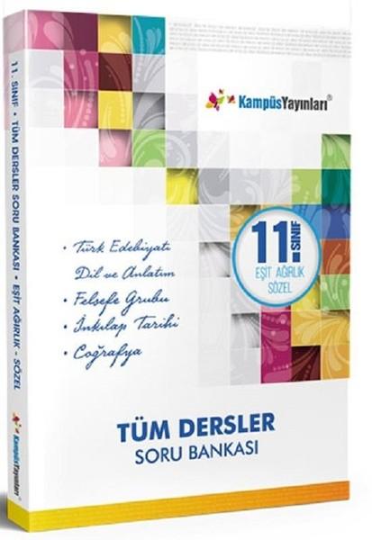 11. Sınıf Eşit Ağırlık Sözel Tüm Dersler Soru Bankası kitabı