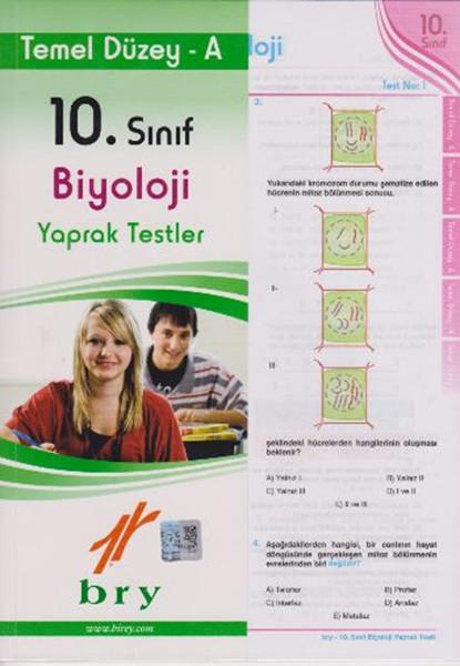 10. Sınıf Biyoloji Yaprak Testler Temel Düzey A kitabı