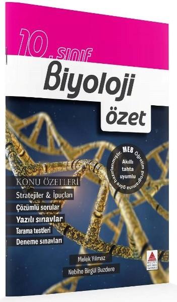 10. Sınıf Biyoloji Özet kitabı