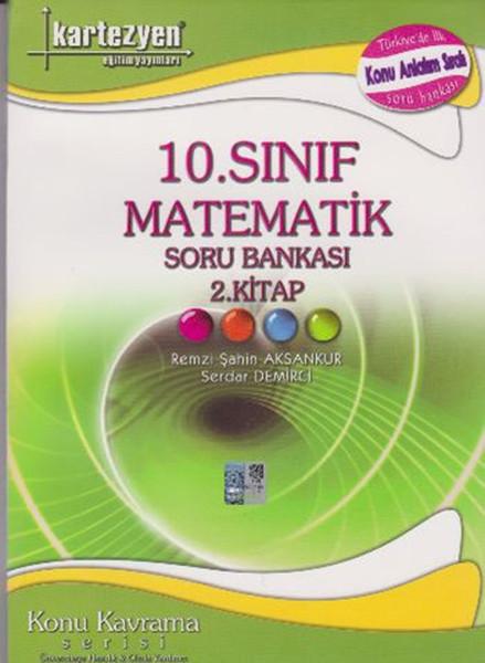 10. Sınıf Matematik Soru Bankası 2. Kitap kitabı
