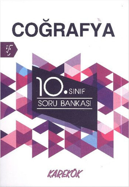 10. Sınıf Coğrafya Soru Bankası kitabı