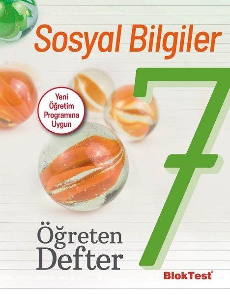 7. Sınıf Sosyal Bilgiler Öğreten Defter kitabı