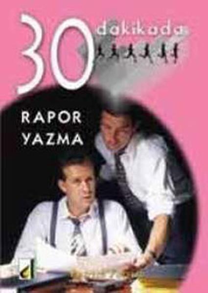30 Dakikada Rapor Yazma kitabı