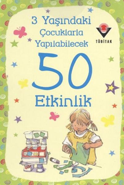 3 Yaşındaki Çocuklarla Yapılabilecek 50 Etkinlik kitabı