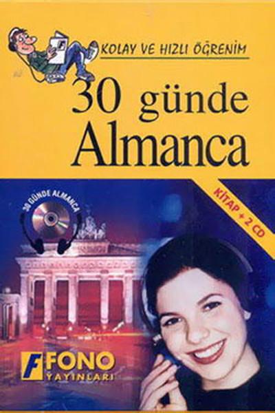 30 Günde Almanca-1 Kitap+2 Cd- Kutulu kitabı