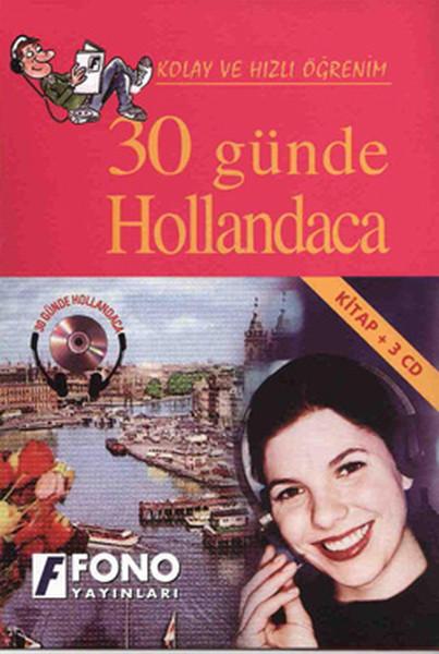 30 Günde Hollandaca Cd'li - Kutulu - Fono kitabı
