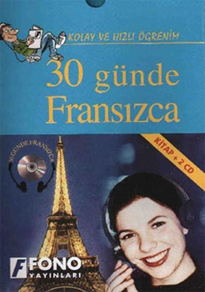 30 Günde Fransızca (Kitap + 2 Cd) - Kutulu kitabı