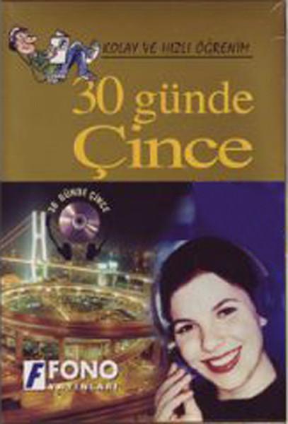 30 Günde Çince (Kitap + 2 Cd) - Kutulu kitabı