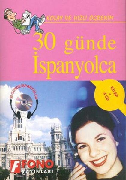 30 Günde İspanyolca- Kitap + 4 Cd Kutulu kitabı