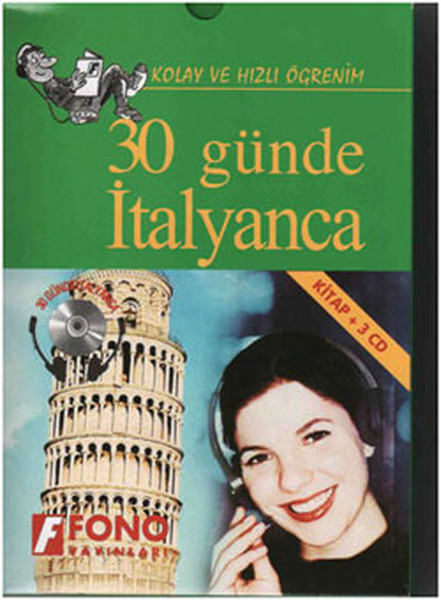 30 Günde İtalyanca Cd'li - Kutulu kitabı