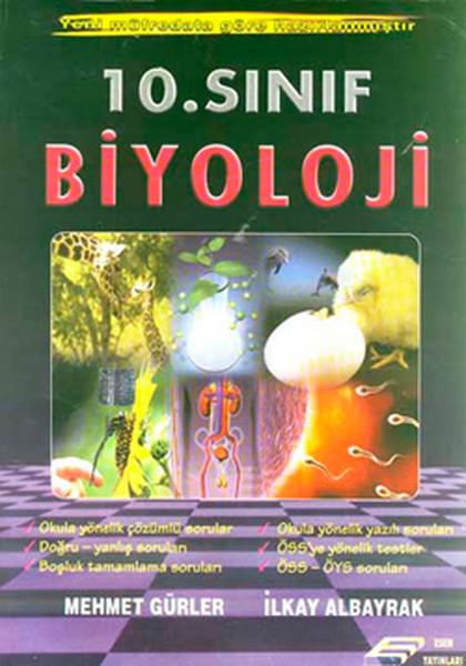 10. Sınıf Biyoloji Konu Anlatımı kitabı
