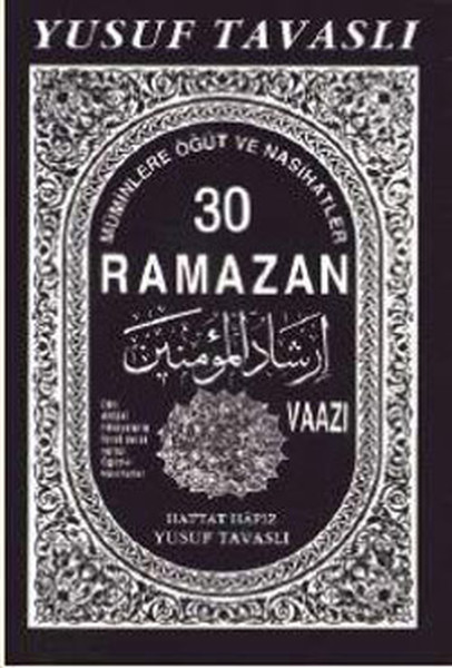 30 Ramazan Vaazı kitabı