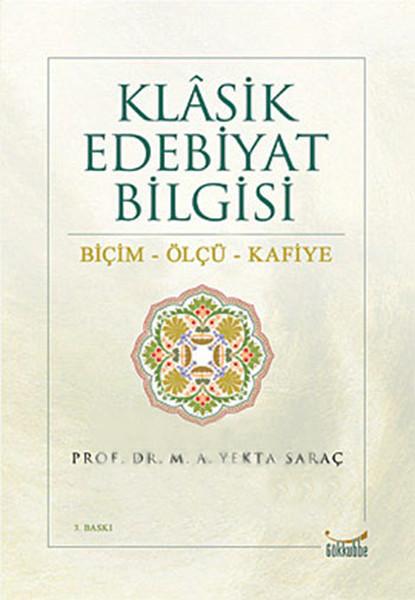 Klasik Edebiyat Bilgisi kitabı