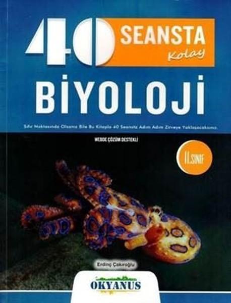 11. Sınıf 40 Seansta Kolay Biyoloji kitabı