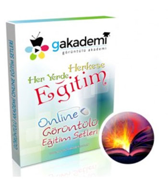 12. Sınıf Edebiyat Online Görüntülü Eğitim Seti kitabı