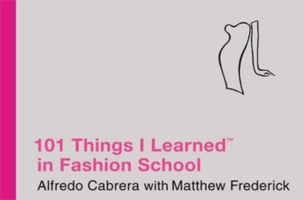 101 Things I Learned İn Fashion School kitabı