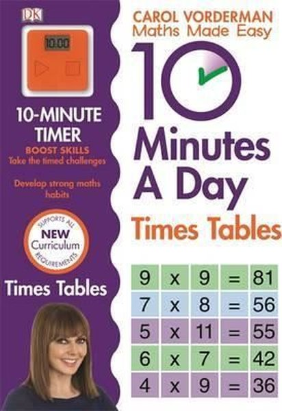 10 Minutes A Day Times Table (Made Easy Workbooks)  kitabı