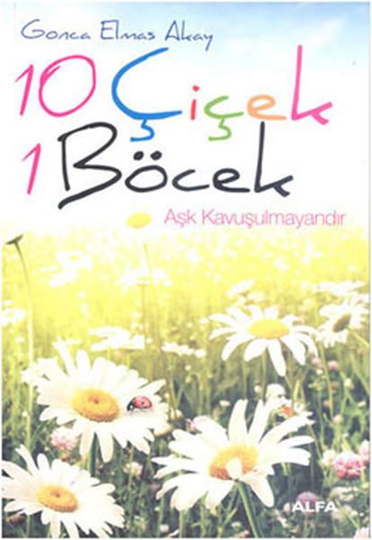 10 Çiçek 1 Böcek kitabı