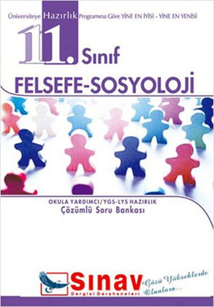 11. Sınıf Felsefe-Sosyoloji kitabı