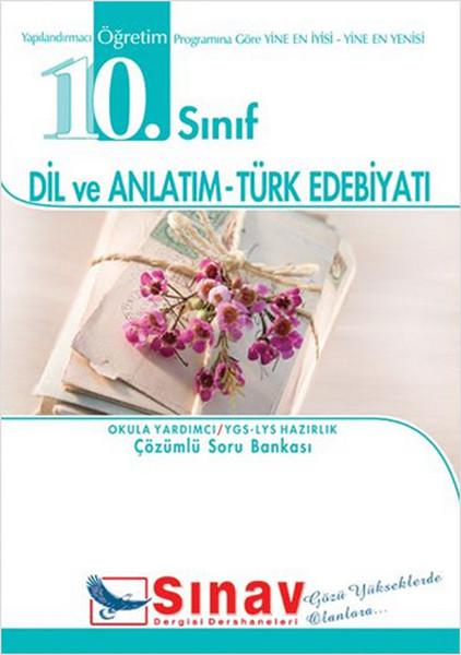 10. Sınıf Dil Ve Anlatım-Türk Edebiyatı Örnek Test Çözümlü Soru Bankası kitabı