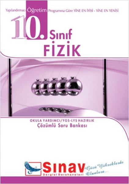 10. Sınıf Fizik Örnek Test Çözümlü Soru Bankası kitabı