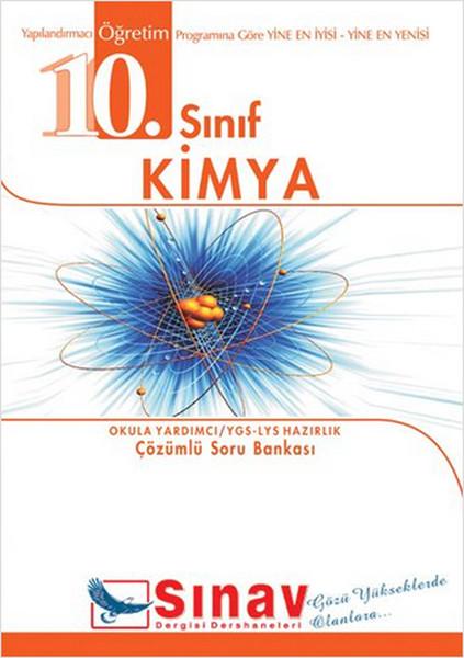 10. Sınıf Kimya Örnek Test Çözümlü Soru Bankası kitabı