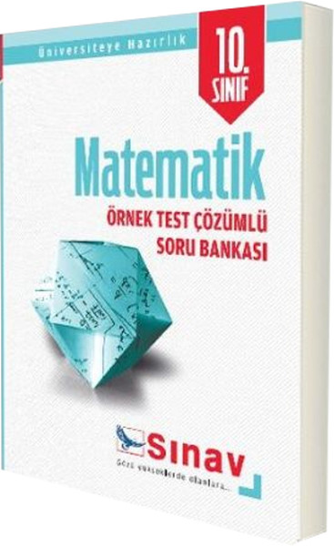 10. Sınıf Matematik Örnek Çözümlü Soru Bankası kitabı