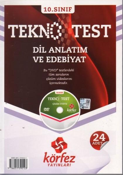 10. Sınıf Dil Anlatım Ve Edebiyat Tekno Test kitabı