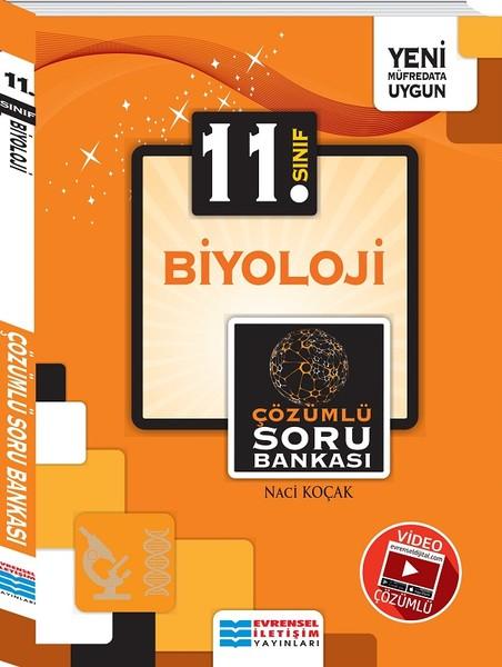 11. Sınıf Biyoloji Video Çözümlü Soru Bankası kitabı