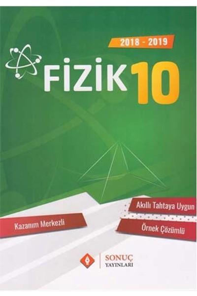 10. Sınıf Fizik Kazanım Merkezli Soru Bankası Seti kitabı