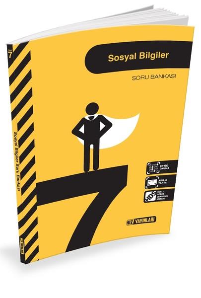 7. Sınıf Sosyal Bilgiler Soru Bankası kitabı