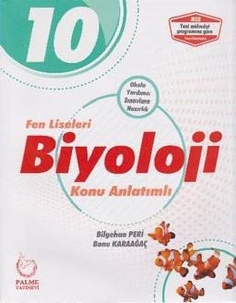 10. Sınıf Fen Liseleri Biyoloji Konu Anlatımlı kitabı