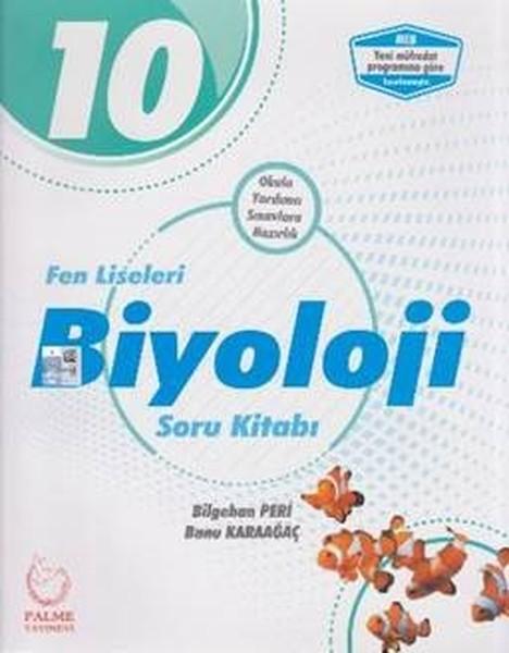 10. Sınıf Fen Liseleri Biyoloji Soru Kitabı kitabı