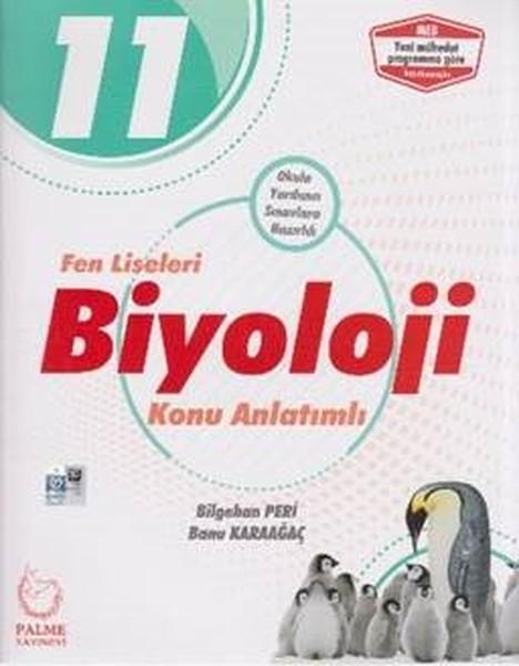 11. Sınıf Fen Liseleri Biyoloji Konu Anlatımlı kitabı