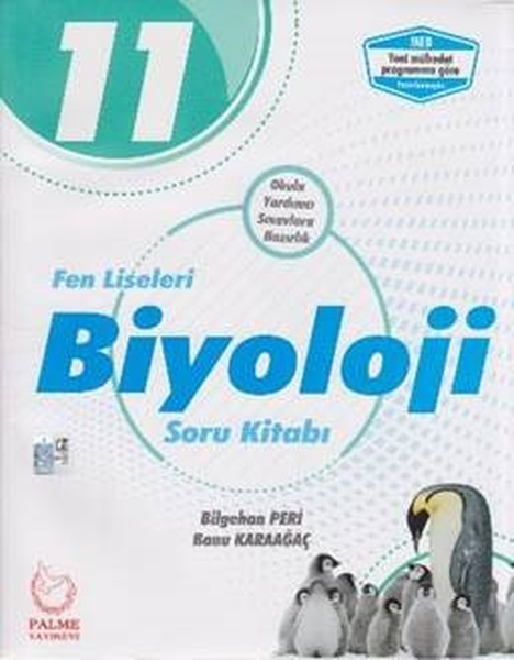 11. Sınıf Fen Liseleri Biyoloji Soru Kitabı kitabı