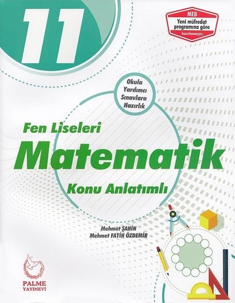 11. Sınıf Fen Liseleri Matematik Konu Anlatımlı kitabı
