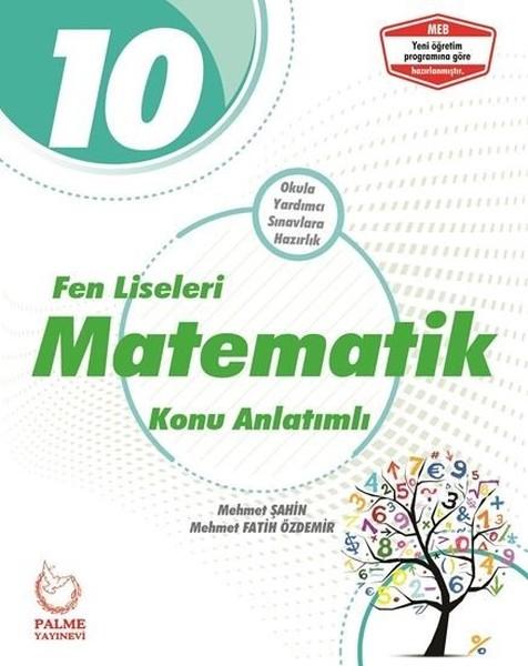 10. Sınıf Fen Liseleri Matematik Konu Anlatımlı kitabı