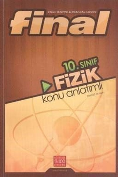 10. Sınıf Fizik Konu Anlatımlı kitabı
