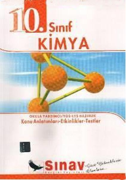 10. Sınıf Kimya Konu Anlatımlı kitabı