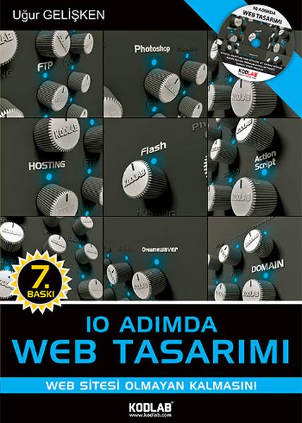 10 Adımda Web Tasarımı kitabı