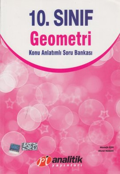 10. Sınıf Geometri Konu Anlatımlı Soru Bankası kitabı