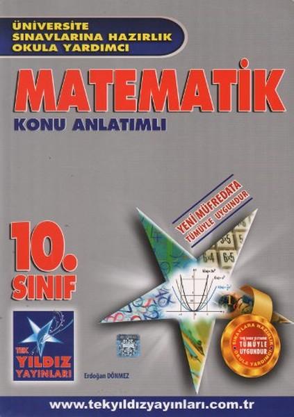 10. Sınıf Matematik Konu Anlatımlı kitabı