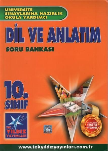 10. Sınıf Dil Ve Anlatım Soru Bankası kitabı