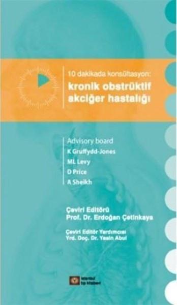 10 Dakikada Konsültasyon Kronik Obstrüktif Akciğer Hastalığı kitabı