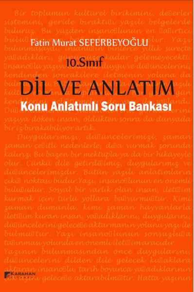 10. Sınıf Dil Ve Anlatım Konu Anlatımlı Soru Bankası kitabı